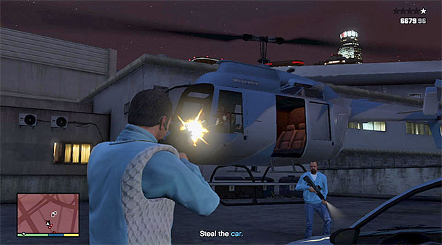Attack the helicopter crew - Unknowing the Truth - Strangers and Freaks missions - Grand Theft Auto V Game Guide