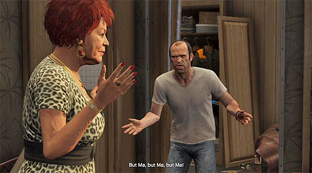 Unexpected meeting - Mrs. Richards - Strangers and Freaks missions - Grand Theft Auto V Game Guide