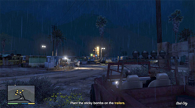 Trailer Park - 21: Friends Reunited - Main missions - Grand Theft Auto V Game Guide