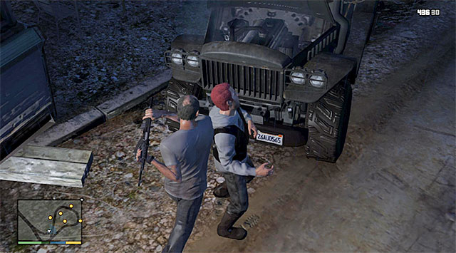 First enemy - 21: Friends Reunited - Main missions - Grand Theft Auto V Game Guide