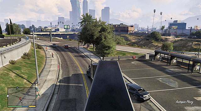 You can ram vehicles freely - 22: Fame or Shame - Main missions - Grand Theft Auto V Game Guide