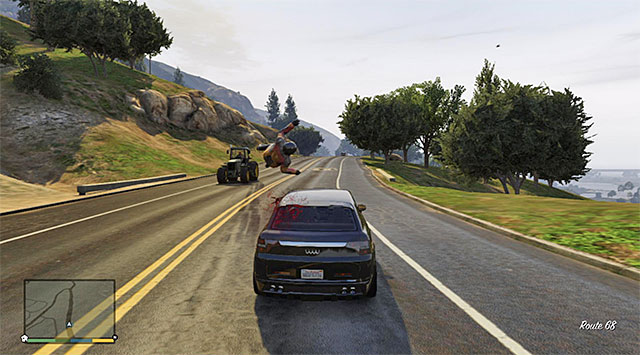 Motorcyclist can be rammed or shoot down - 24: The Multi Target Assassination - Main missions - Grand Theft Auto V Game Guide