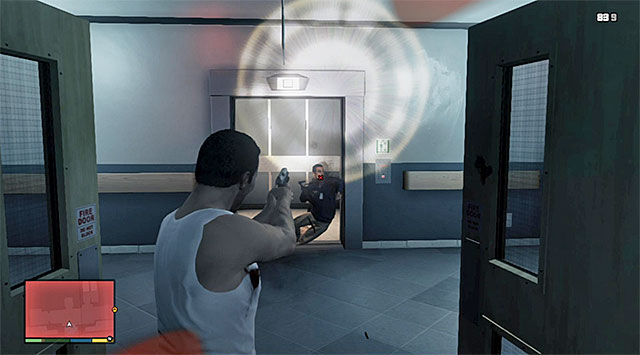 An elevator - 25: Dead Man Walking - Main missions - Grand Theft Auto V Game Guide