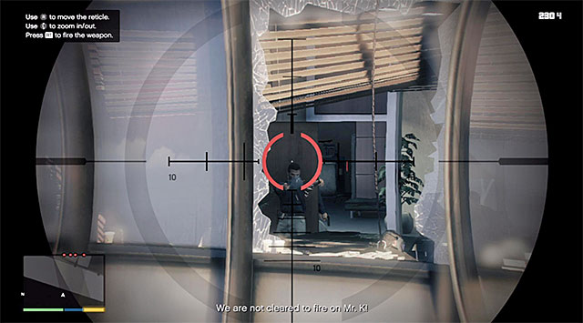 Eliminate agents with sniper rifle - 27: Threes Company - Main missions - Grand Theft Auto V Game Guide