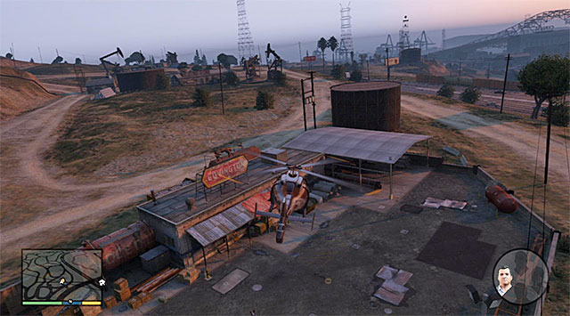Landing site - 27: Threes Company - Main missions - Grand Theft Auto V Game Guide