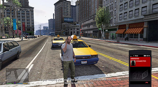 A phone call from Steve - 28: By the Book - Main missions - Grand Theft Auto V Game Guide