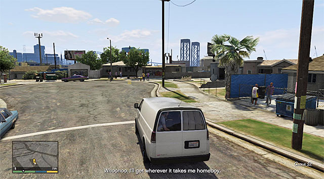 Grove Street - 29: Hood Safari - Main missions - Grand Theft Auto V Game Guide