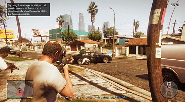 Trevors special skill will prove very useful here - 29: Hood Safari - Main missions - Grand Theft Auto V Game Guide