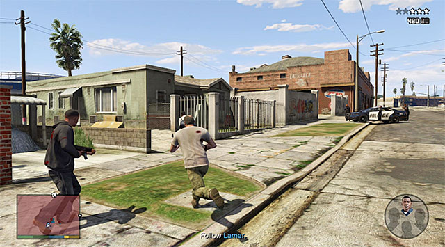 Escape from the Grove Street - 29: Hood Safari - Main missions - Grand Theft Auto V Game Guide