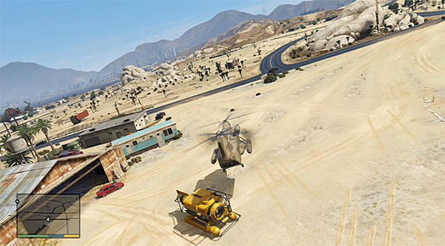 The place where the mission ends - 34: The Merryweather Heist - the Offshore variant - Main missions - Grand Theft Auto V Game Guide