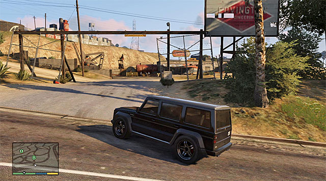 The meeting place - 35: Blitz Play - Main missions - Grand Theft Auto V Game Guide