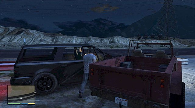 Cut in on Ralphs car - Maude: Ralph Ostrowski - Strangers and Freaks missions - Grand Theft Auto V Game Guide