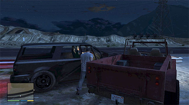 Cut in on Ralphs car - Maude: Ralph Ostrowski - Strangers and Freaks missions - Grand Theft Auto V - Game Guide and Walkthrough