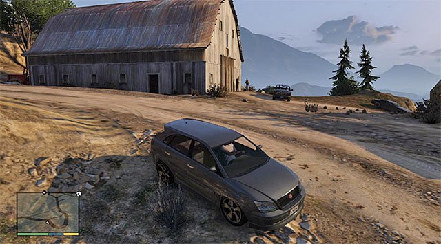 A barn - Maude: Larry Tupper - Strangers and Freaks missions - Grand Theft Auto V Game Guide