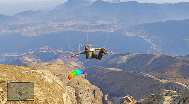 Dont forget to open the parachute! - Maude: Glenn Scoville - Strangers and Freaks missions - Grand Theft Auto V - Game Guide and Walkthrough