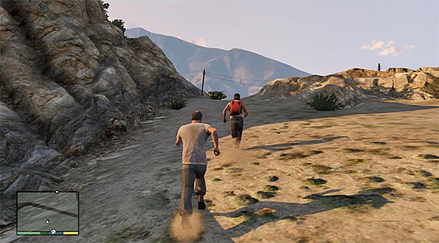 Catch Glenn and knock him down - Maude: Glenn Scoville - Strangers and Freaks missions - Grand Theft Auto V Game Guide