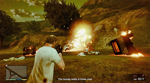 Grenade launcher is your best friend in this mission - Rampage Four - Strangers and Freaks missions - Grand Theft Auto V Game Guide