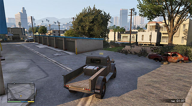 The place where the mission ends - Grass Roots - The Pickup - Strangers and Freaks missions - Grand Theft Auto V Game Guide