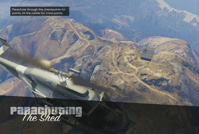 Jumping off a helicopter is a good opportunity to admire views - Types of jobs - Basics - Grand Theft Auto V Game Guide