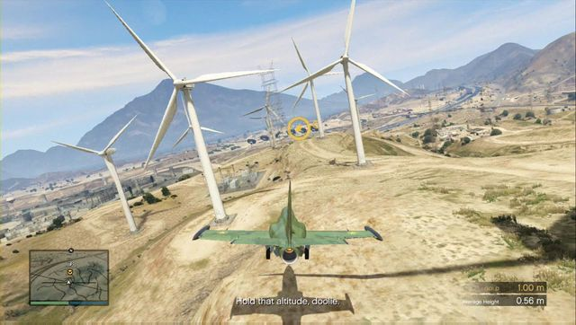 The ending with the windmills is the most deadly part. Be careful. - Lessons 6-10 - Heists (DLC) - Grand Theft Auto V Game Guide