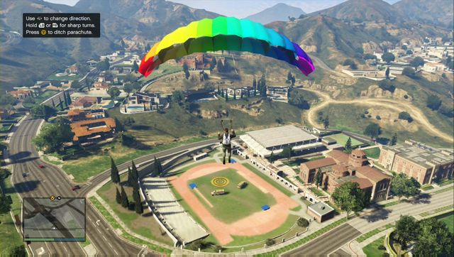 Try slowing down before landing. - Lessons 1-5 - Heists (DLC) - Grand Theft Auto V Game Guide