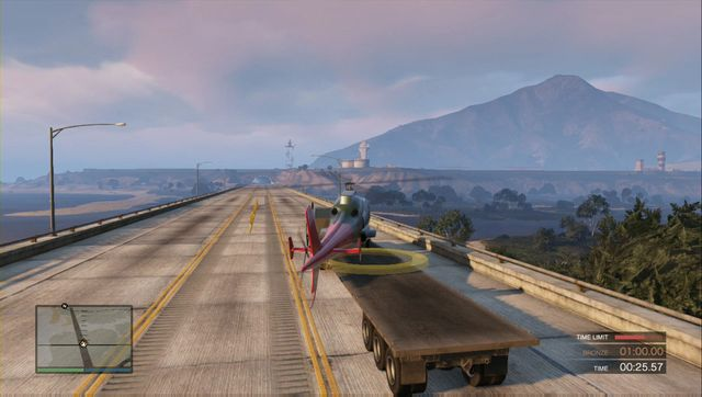 Land wherever on the semitrailer. - Lessons 1-5 - Heists (DLC) - Grand Theft Auto V Game Guide