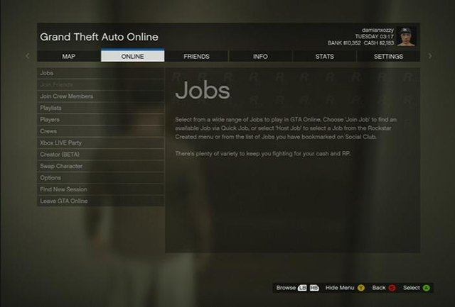 Game menu is very clear - Game menu and interaction menu - Basics - Grand Theft Auto V Game Guide