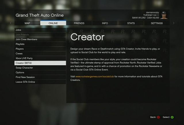Creator - Grand Theft Auto V Game Guide | gamepressure com