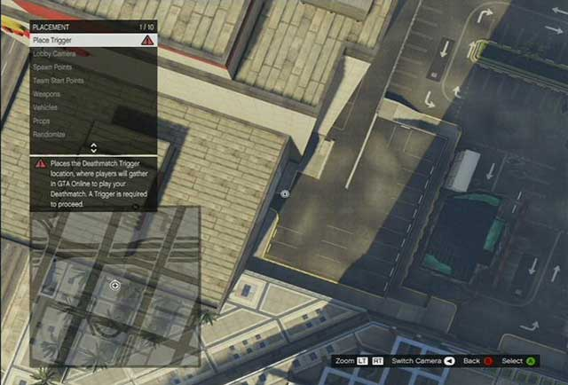 Placement - Deathmatch Creator - Basics - Grand Theft Auto V Game Guide