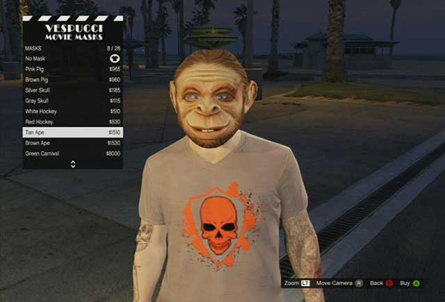 A mask store - Stores - Basics - Grand Theft Auto V Game Guide