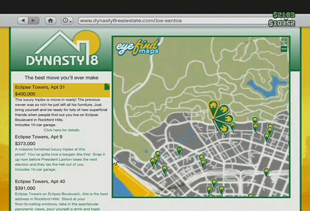 Real estate agency - Real estate agencies - Basics - Grand Theft Auto V Game Guide