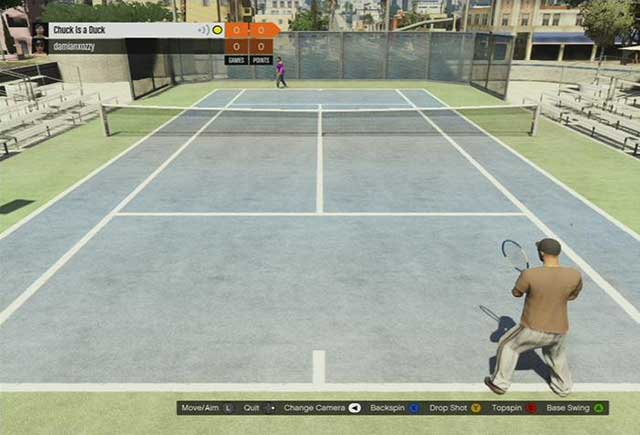Tennis - Past time activities - Basics - Grand Theft Auto V Game Guide