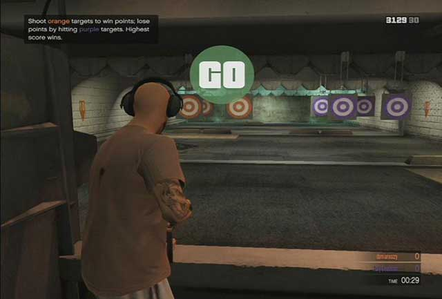 Shooting range - Past time activities - Basics - Grand Theft Auto V Game Guide