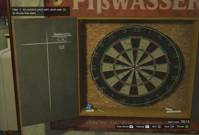 Darts - Past time activities - Basics - Grand Theft Auto V Game Guide