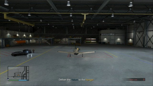 Deliver Velum to the airport hangar - Heist 2: Prison Break - Heists (DLC) - Grand Theft Auto V Game Guide