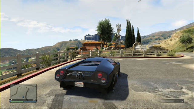 The senators estate - you kill many of the security guards using the sniper rifle - Heist 2: Prison Break - Heists (DLC) - Grand Theft Auto V Game Guide