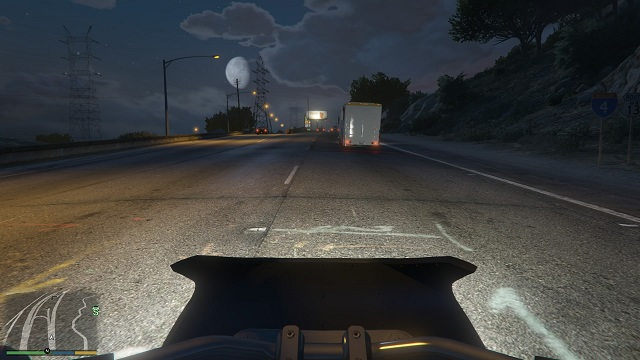 grand theft auto first person mode