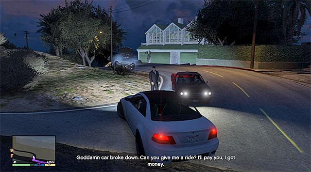Hitchhiker - 1 - Grand Theft Auto V Game Guide   gamepressure com