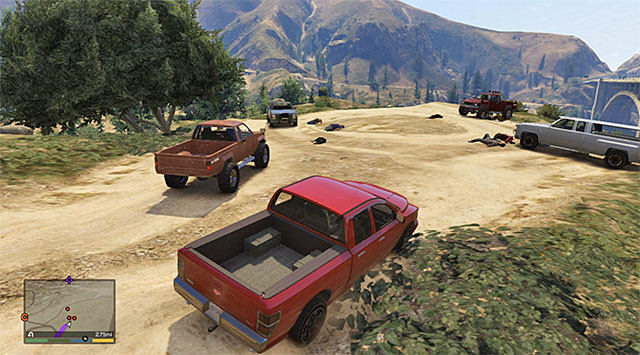 The scenic point - Deal gone wrong - Random events - Grand Theft Auto V Game Guide