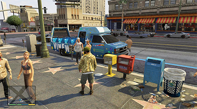 The bus - Bus tour - Random events - Grand Theft Auto V Game Guide