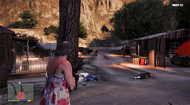 Deal with the armed characters at the farm - Drug shootout - Random events - Grand Theft Auto V Game Guide