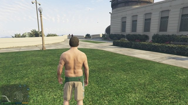 Path leading to the inscription. - Inscriptions - Murder Mystery - Grand Theft Auto V Game Guide