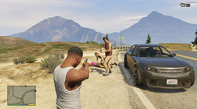 Eliminate the assailants - Rogue Altruists - Random events - Grand Theft Auto V Game Guide