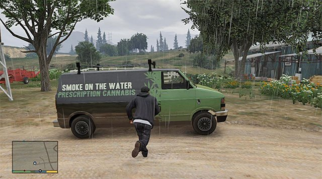 The van - Smoke on the Water - Property missions - Grand Theft Auto V Game Guide