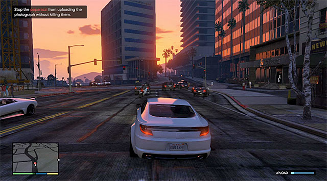 The paparazzo will flee soon after he comes close to the property - Tequi-la-la - Property missions - Grand Theft Auto V Game Guide