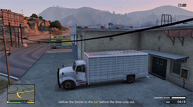 The truck - The Hen House - Property missions - Grand Theft Auto V Game Guide