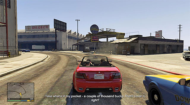 The car garage - 6: Father/Son - Main missions - Grand Theft Auto V Game Guide