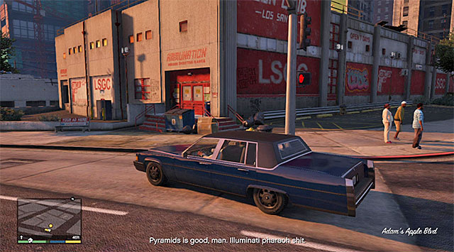 The Ammu-Nation store - 7: The Long Stretch - Main missions - Grand Theft Auto V Game Guide