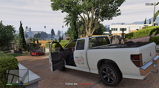 The gardeners Pick-up truck - 8: Marriage Counseling - Main missions - Grand Theft Auto V Game Guide