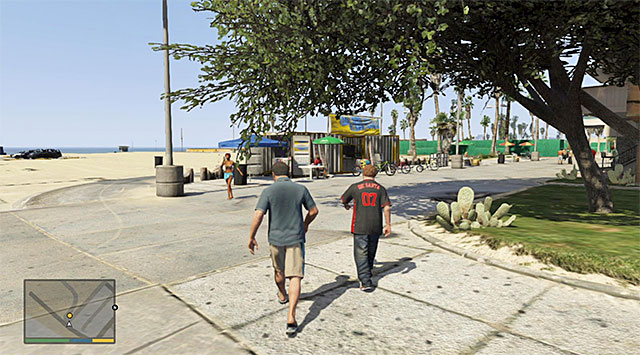 Bike rental stand - 9: Daddys Little Girl - Main missions - Grand Theft Auto V Game Guide